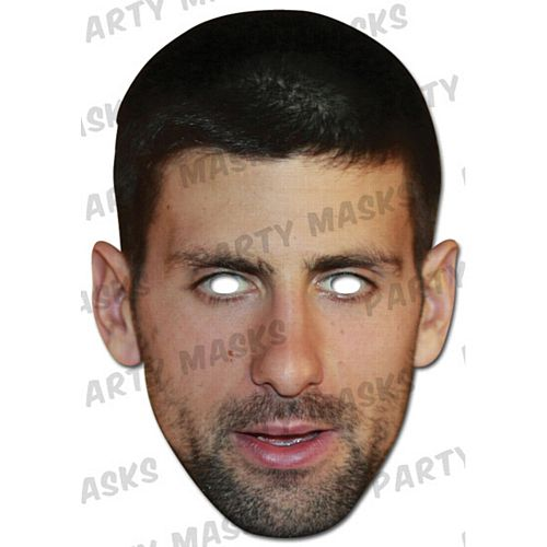 Novak Djokovic Card Mask
