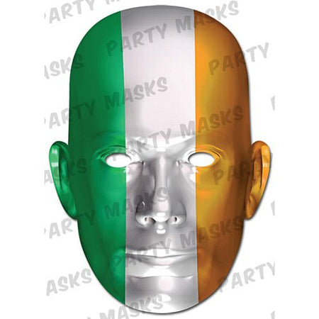 Ireland International Flag Masks Card Mask