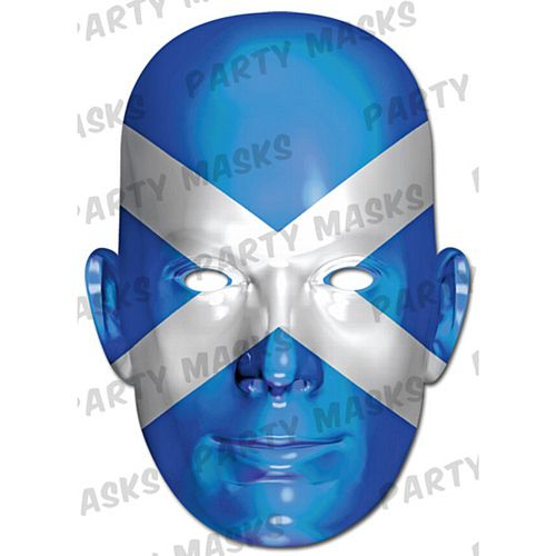 Scotland International Flag Masks Card Mask