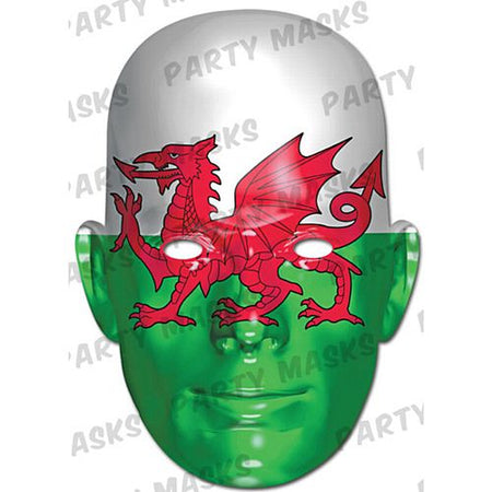 Wales International Flag Card Mask