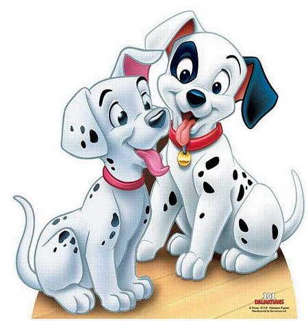 Click to view product details and reviews for 101 Dalmatians Puppies Cardboard Cutout 58cm.