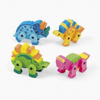 Dinosaur Eraser - Assorted Colors