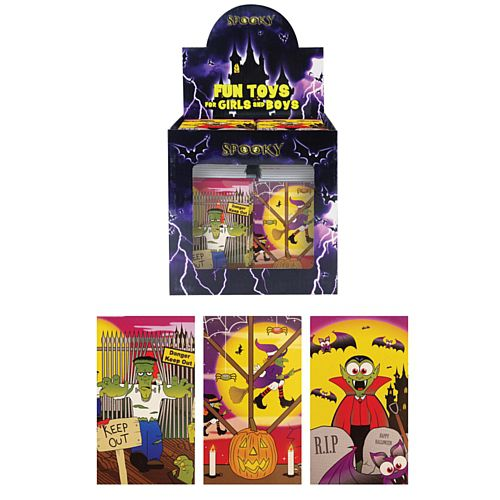 Halloween Notebook - Assorted Colours