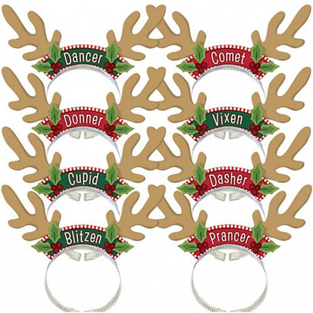 Click to view product details and reviews for Santas Reindeer Pack 203cm Pack Of 8.