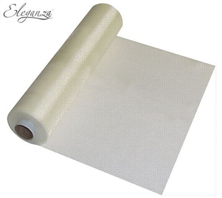 Eleganza Sheer Roll - Ivory - 25m