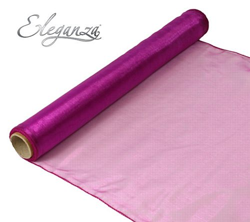 Eleganza Woven Edge Roll - Hot Pink- 9m