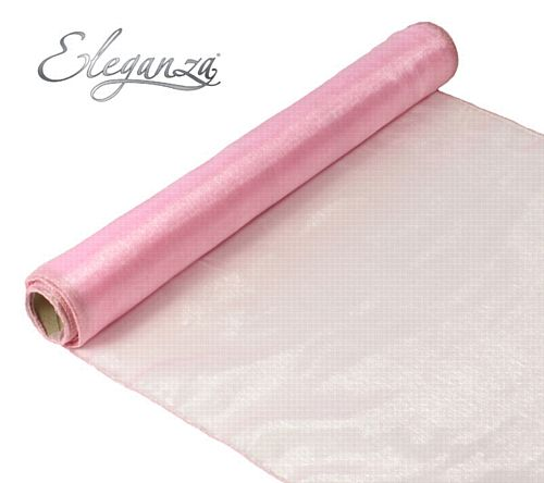 Eleganza Woven Edge Roll - Light Pink - 9m