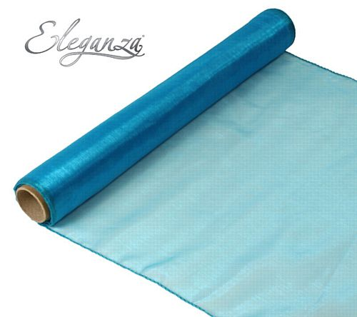 Eleganza Woven Edge Roll - Turquoise - 9m