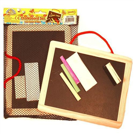Wood Blackboard Set