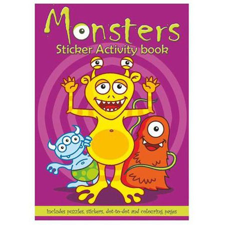 Click to view product details and reviews for Monster Activity Book A6.