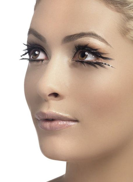 Black Eyelashes with Jewels