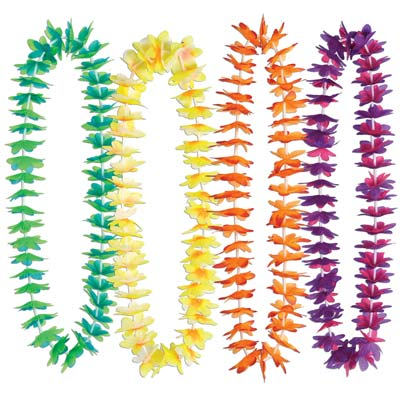 Waikiki Leis - Assorted Colours - 1.02m
