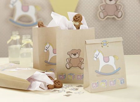 Click to view product details and reviews for Rock A Bye Baby Party Bags With Stickers 171cm Pack Of 5.