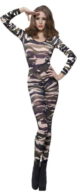 Click to view product details and reviews for Camouflage Bodysuit.