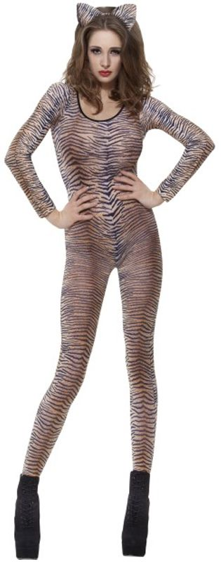Click to view product details and reviews for Tiger Print Bodysuit.