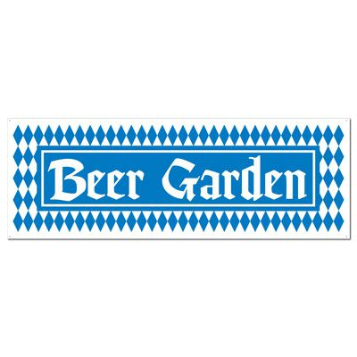 Click to view product details and reviews for Beer Garden Pvc Sign Banner 152m.