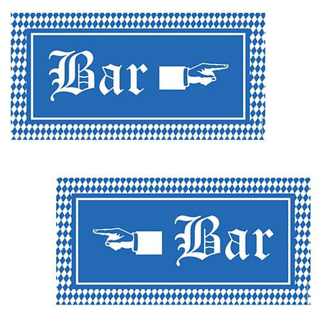 Click to view product details and reviews for Oktoberfest Bar Signs 584cm Pack Of 2.