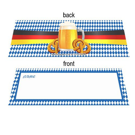 Oktoberfest Placecards - Pack of 8