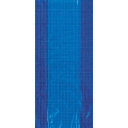 Royal Blue Plastic Cello Bags - 28cm - Pack of 30