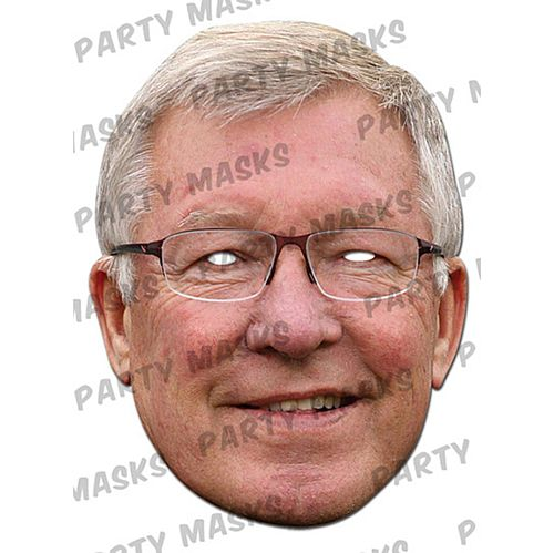 Alex Ferguson Card Mask