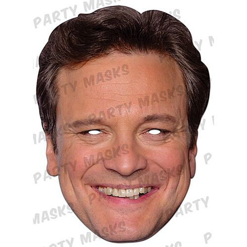 Colin Firth Card Mask