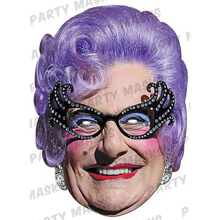 Dame Edna Everage Card Mask