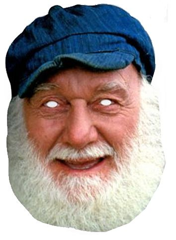 Uncle Albert Card Mask