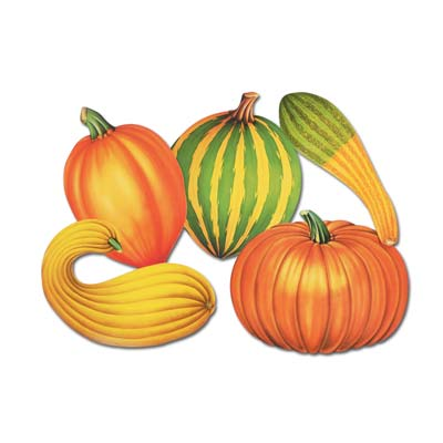 Autumn Cutouts - 40.6cm - Pack of 5