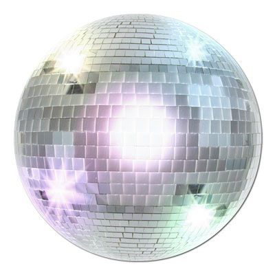 Disco Ball Cutout - 34.3cm