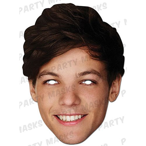 Louis Tomlinson Card Mask