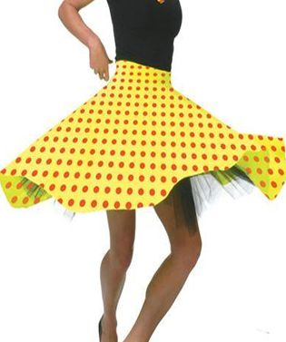 Rock n Roll Skirt Yellow