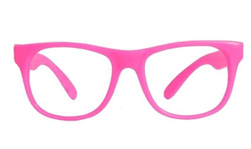 Pink Frame Glasses