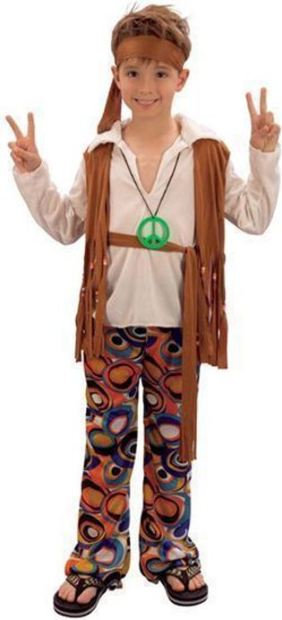 Hippy Boy Costume
