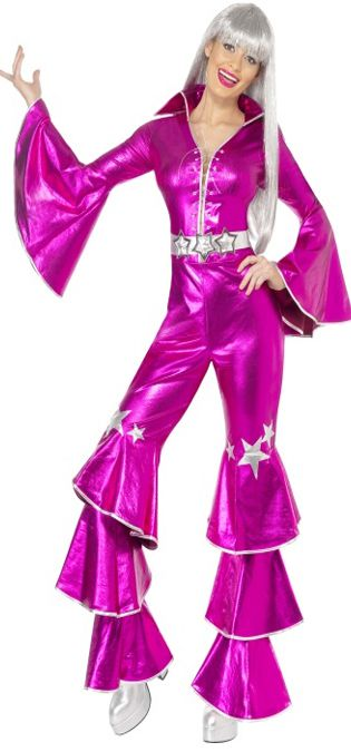 Click to view product details and reviews for 1970s Dancing Dream Costume Pink Small.