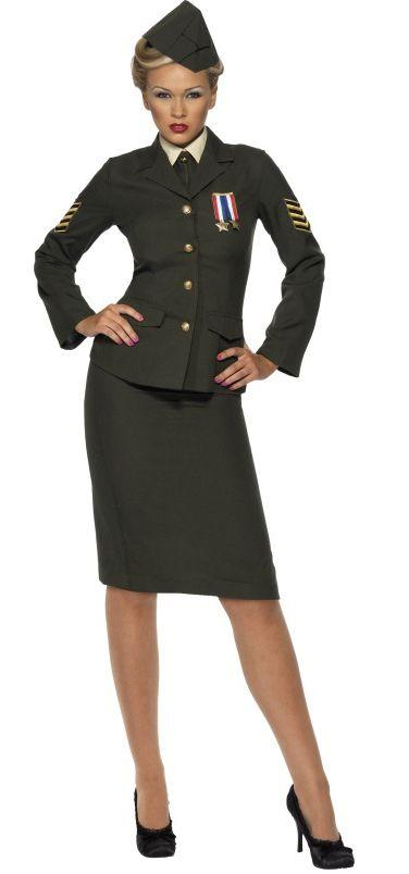 Female Wartime Officer