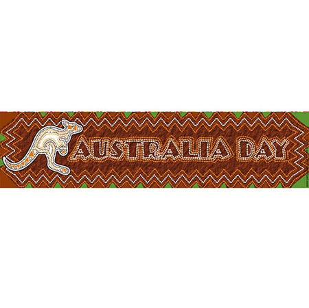 Click to view product details and reviews for Down Under Themed Banner 120cm X 297cm.
