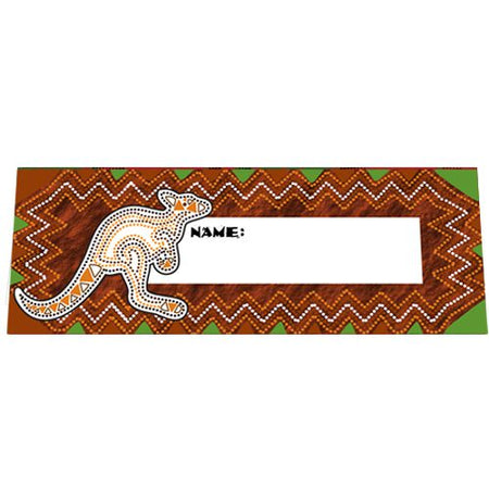 Down Under Themed Placecards - Pack of 8