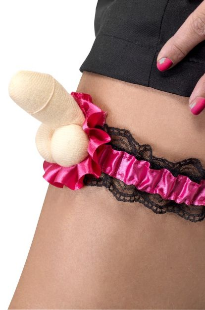 Click to view product details and reviews for Hen Night Willy Garter.