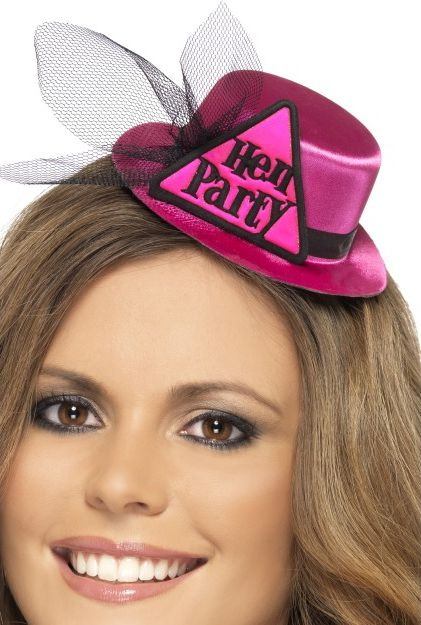 Click to view product details and reviews for Hen Party Mini Hat Pink.