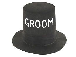 Mini Groom Top Hat