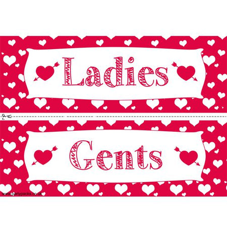 Click to view product details and reviews for Valentines Hearts Themed Toilet Signs.
