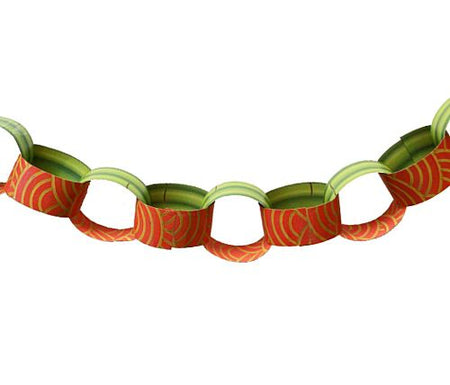 Chinese New Year Themed Paper Chain Kit - A3 Card