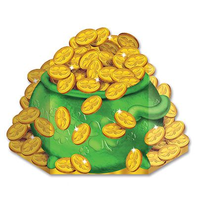 Pot-O-Gold Stand-In Photo Prop - 92.7cm