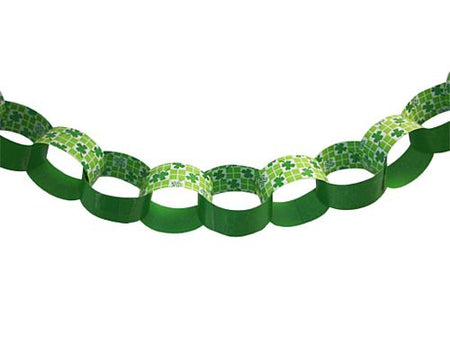 Clover Check Themed  Paper Chain Kit - A3 Paper