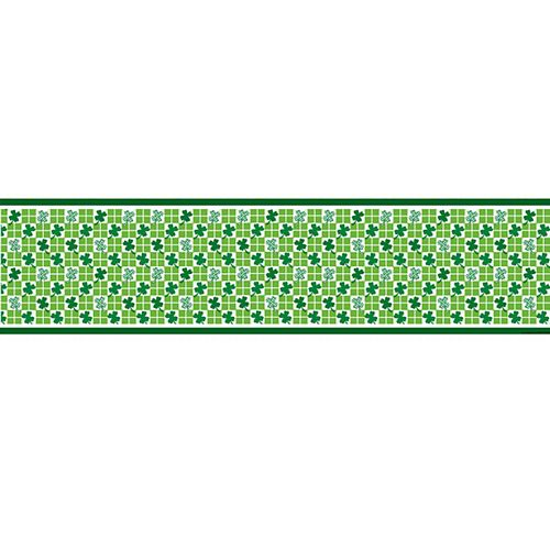 Clover Check Paper Table Runner - 120cm x 30cm