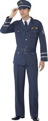 WWII Air Force Captain Costume