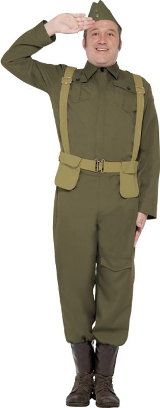 WWII Home Guard Private Costume