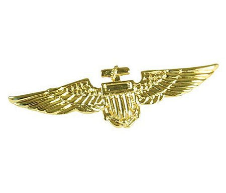 Aviator Military Pin