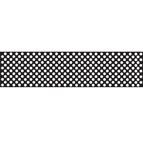 Black Polka Dot Paper Table Runner - 120 x 30cm