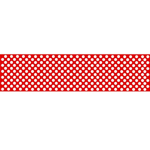 Red Polka Dot Table Runner - 120 x 30cm - Each